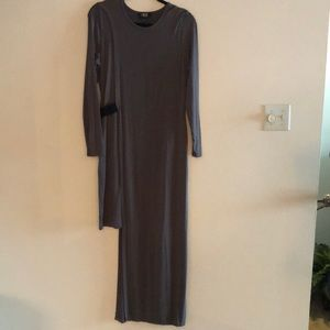 Nene high low maxi dress